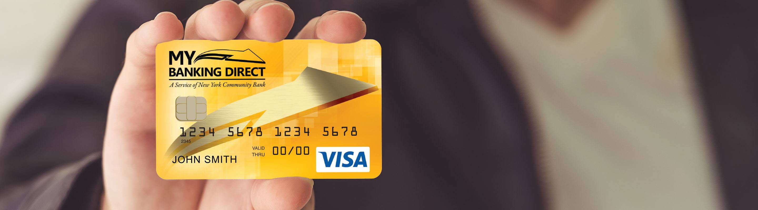 My Banking Direct Visa Debit Card